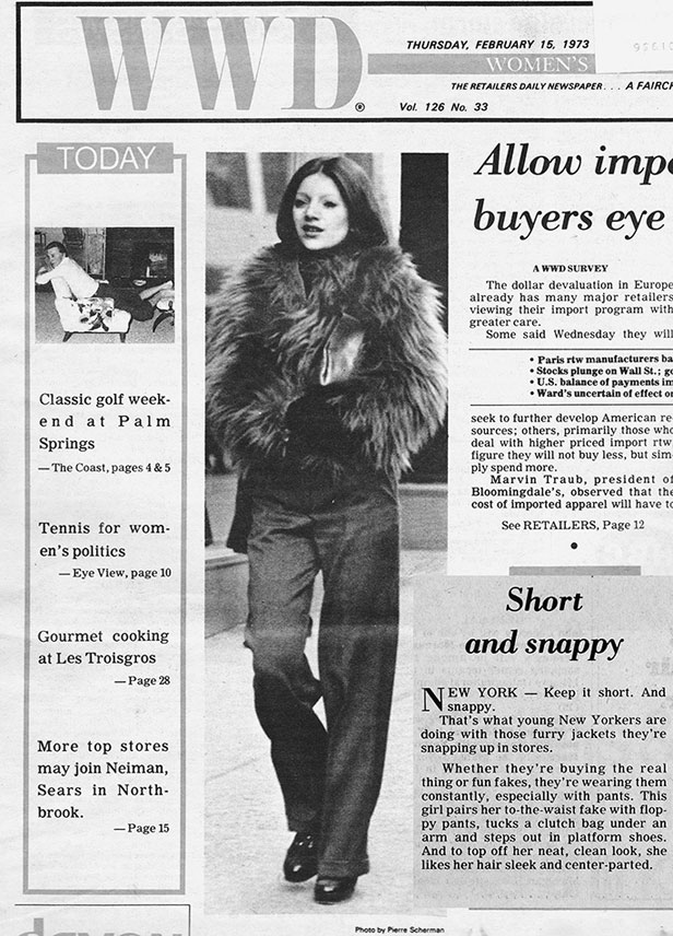 In 1973 when Linda Friedman Schmidt appeared on the cover of Women's Wear Daily as a stylish New Yorker, WWD was unaware she wore reconstructed castoffs